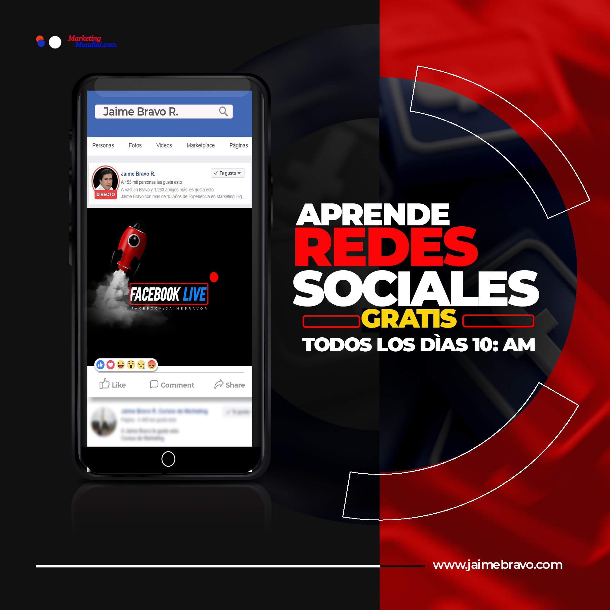 Jaime Bravo R Cursos de marketing digital gratis